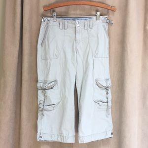 Lucky Brand  Crop Khaki Cargos Size 29./8.